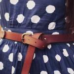 Os Cintos Podem Dar Cara Nova aos Vestidos